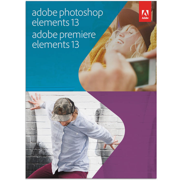 Adobe Photoshop Elements 13 and Premiere Elements 13