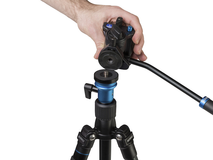 Benro Travel Tripod Top Plate