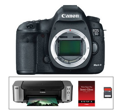 Canon 5D Mark III and PIXMA PRO-100