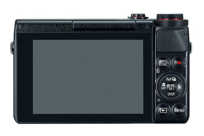 Canon PowerShot G7 X Back