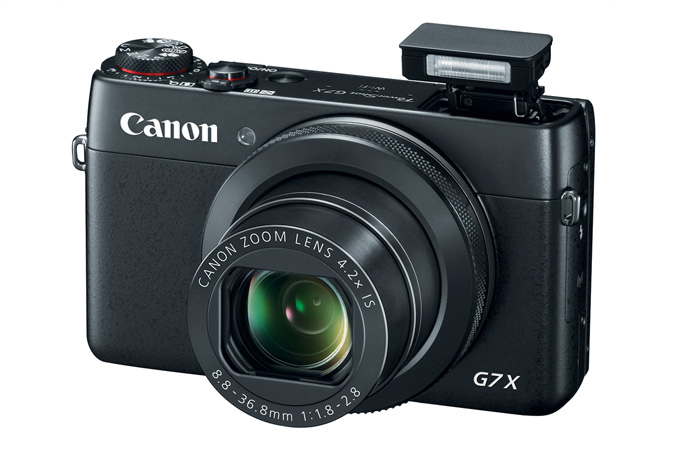Canon PowerShot G7 X Flash