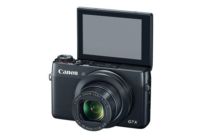 Canon PowerShot G7 X LCD
