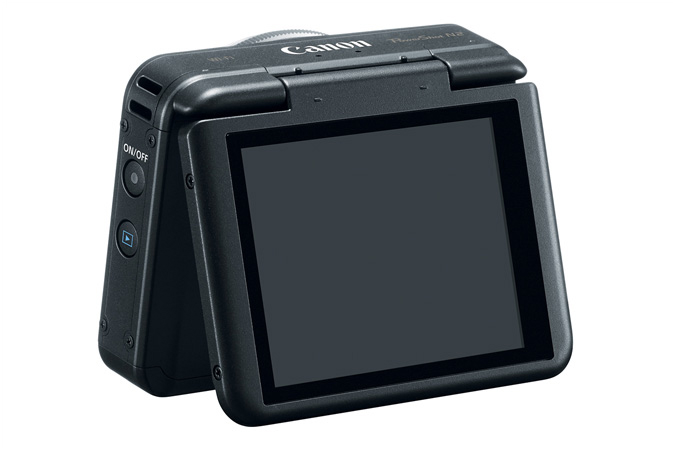 Canon PowerShot N2 Back