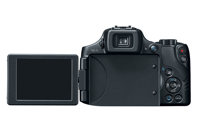 Canon PowerShot SX60 HS Back LCD