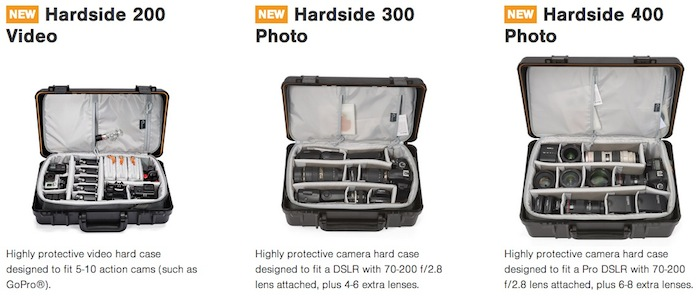 Lowepro Hardside Series
