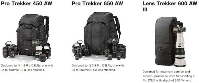 Lowepro Pro Trekker Series
