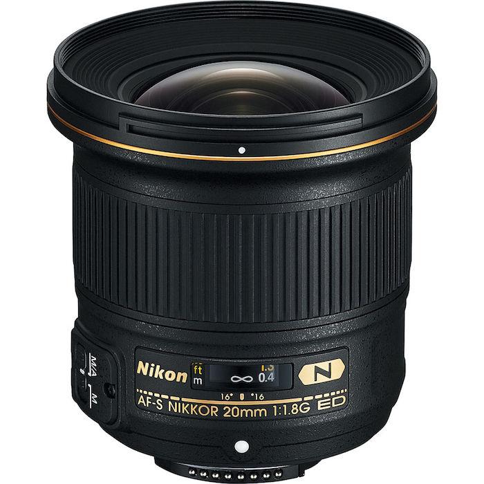 Nikon AF-S 20mm f1.8G ED Lens