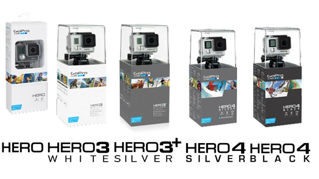 It Appears That The GoPro HERO Will Reside As Most Affordable And Least Specd Out Version Available From Behind HERO3 White Silver