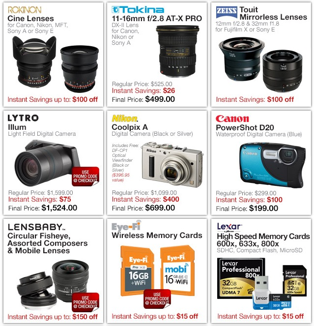 BH Photo PPE Deals