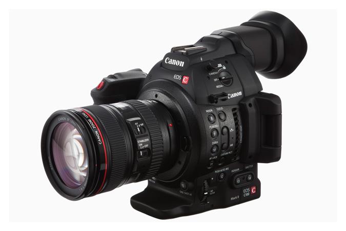 Canon C100 Mark II