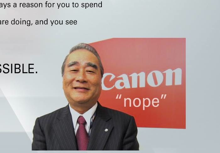 Canon See Impossible Parody Close