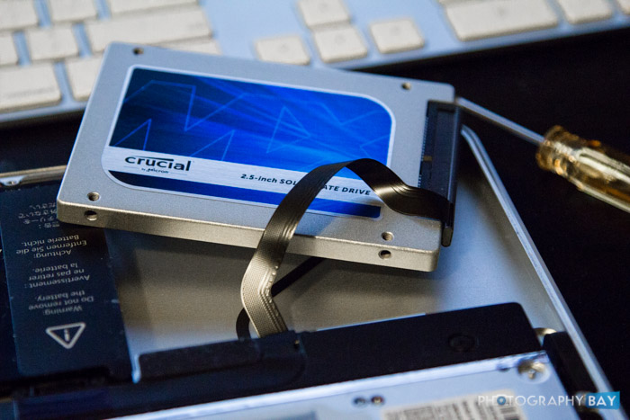 Crucial SSD MacBook Pro Swap