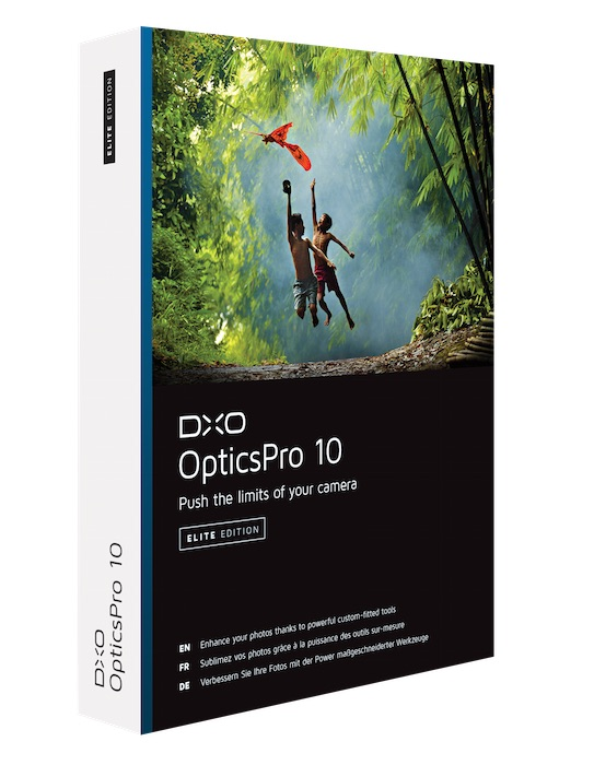 DxO OpticsPro 10 Elite - 3D
