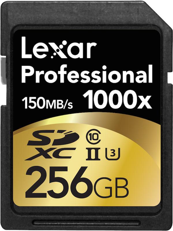 Lexar Pro_1000x_SDXC_256GB