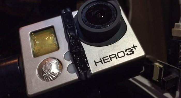 Melted GoPro