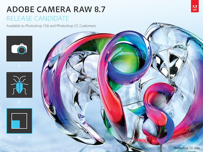 Photoshop Camera Raw 8.7 Release Candidate