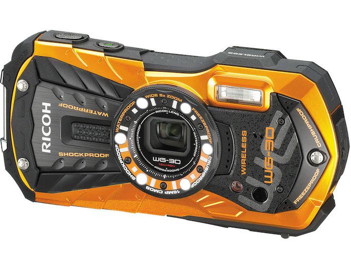 Ricoh WG-30W Orange