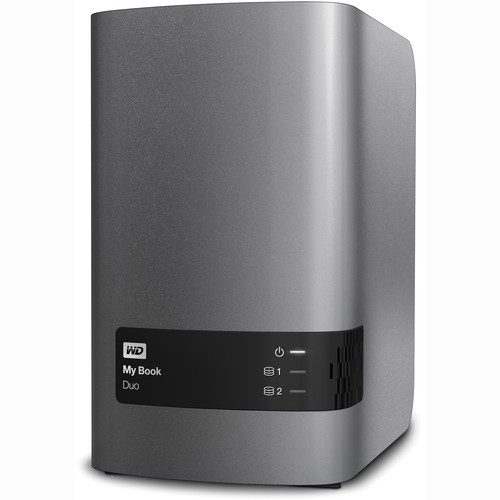 WD 8TB My Book Duo External RAID Stor