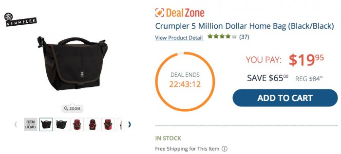 Crumpler 5 Million Dollar Home Deal Zone Deal
