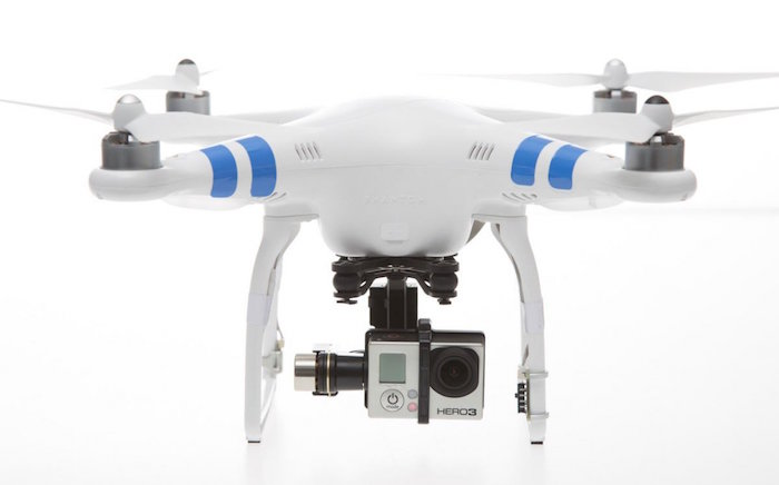 (Pictured: DJI Phantom 2 with GoPro)