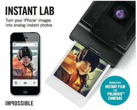 Impossible Instant Lab for iPhone