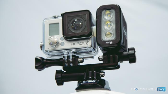 Knog Qudos GoPro LED Light-2