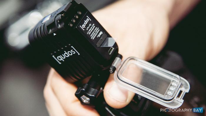 Knog Qudos GoPro LED Light-3