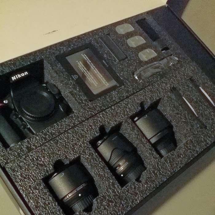 Nikon Filmmakers Kit Open Box