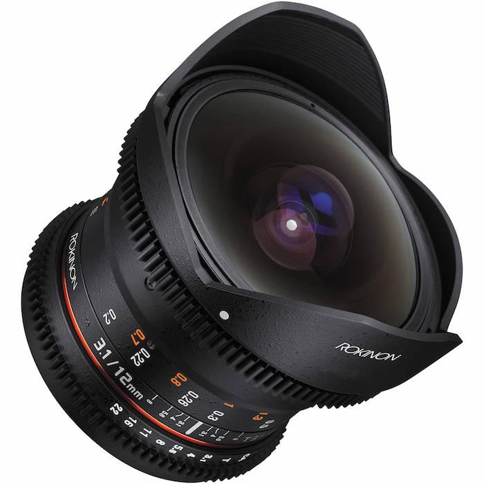 Rokinon 12mm T3.1 Cine lens