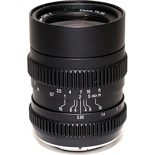 SLR Magic 25mm T0.95 HyperPrime CIne II Lens