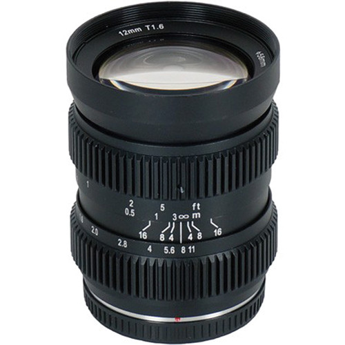 SLR Magic Cine 12mm T1.6 Lens