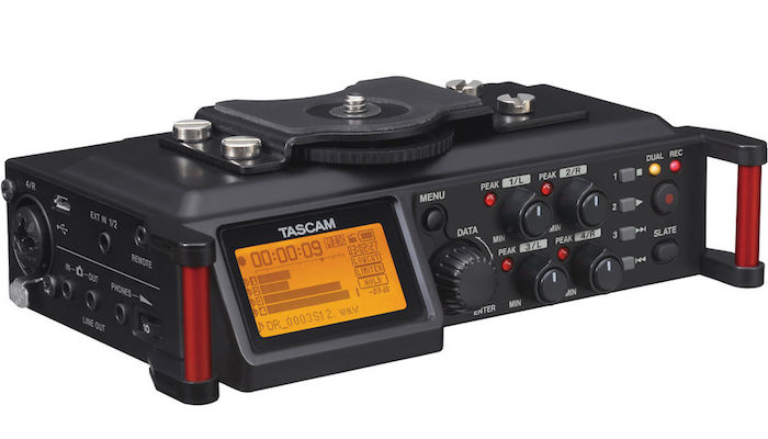 Tascam DR-70D 4 Channel Audio Recorder