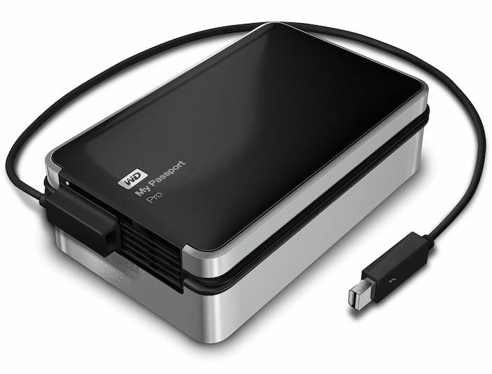 WD My Passport Pro Portable RAID Drive