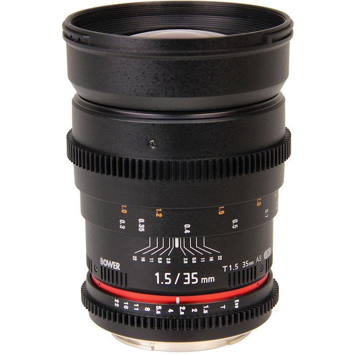 Bower 35mm T1.5 Cine Lens