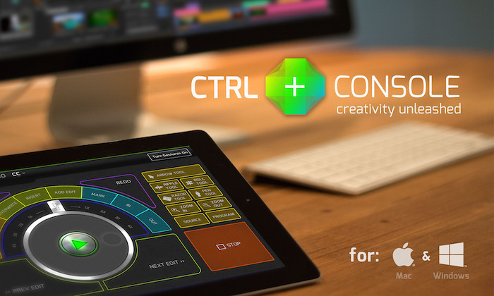 ctrl console turns your ipad into a video editing control surface. Black Bedroom Furniture Sets. Home Design Ideas