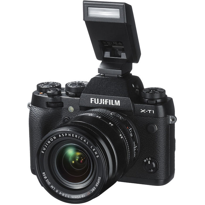 Fuji X-T1 with EF-X8 Flash