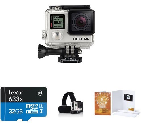 GoPro HERO4 Black Holiday Bundle