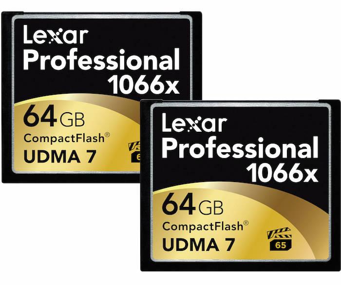 Lexar Professional 64GB CF Cards