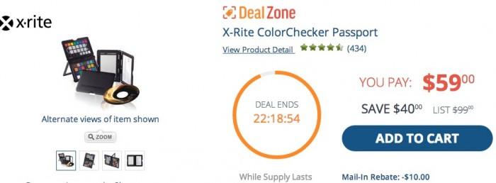 X-Rite Deal Zone