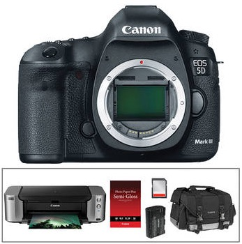 Canon 5D Mark III Bundle PIXMA PRO-100 Printer