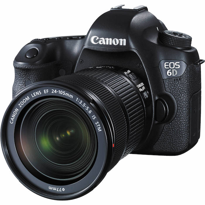Canon 6D with 24-105mm f3.5-5.6 IS STM Lens