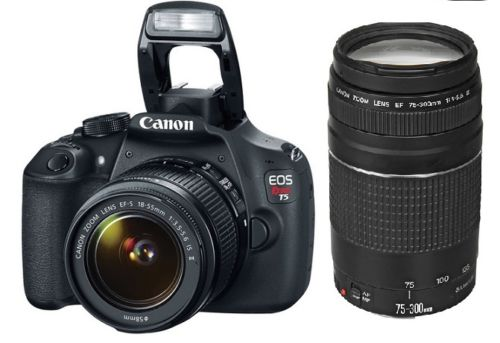Canon Rebel T5 2-Lens Kit