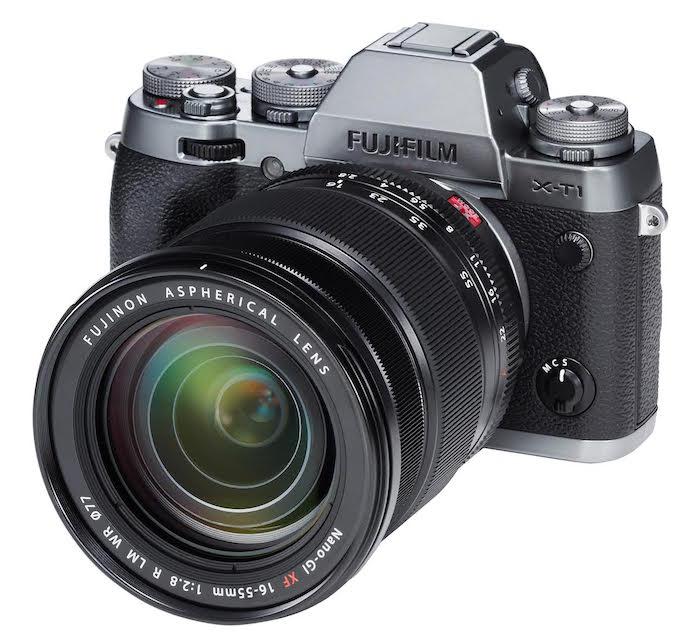 Fuji X-T1 with 16-55mm f2.8 Lens