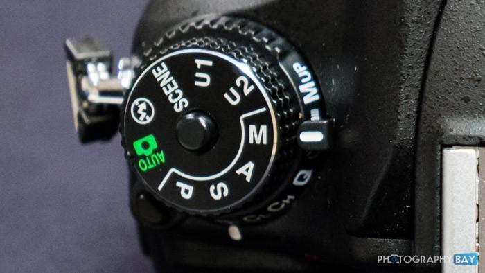 Manual Mode Dial