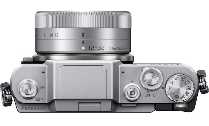 Panasonic GF7 top