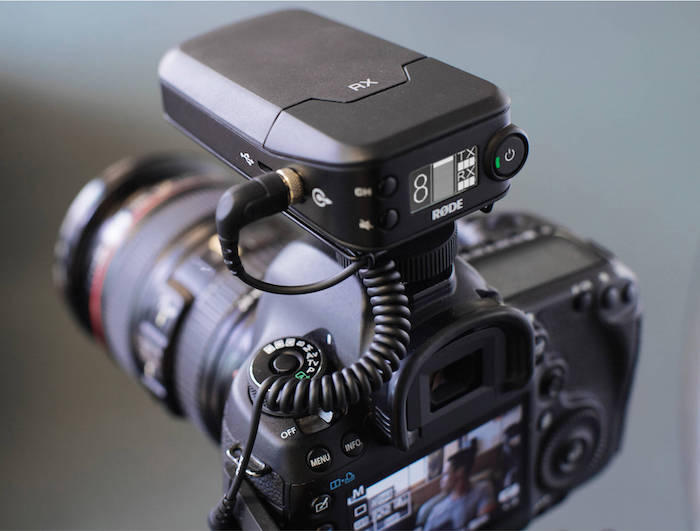 RodeLink Wireless Filmmaker Kit On Camera Receiver