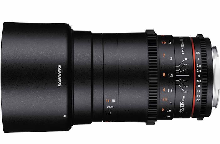 Samyang 135mm T2.2 Cine Lens