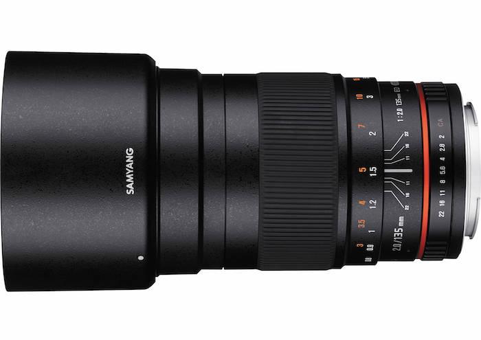 Samyang 135mm f2 Lens