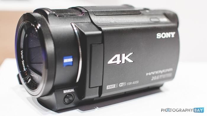 Sony FDR-AX33-4