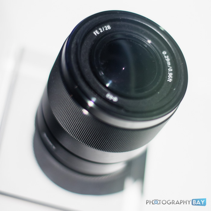 Sony FE Lenses CES 2015-14